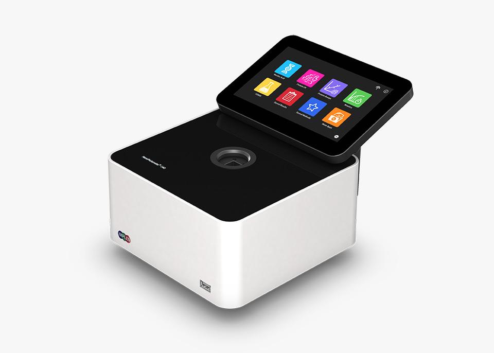 Implen-GO NanoPhotometer C40-GO -Spectroscopy-side-g Eppendorf Alternative