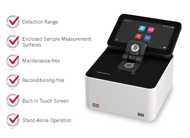 Implen-N50-GO-advantages-over-nanodrop-spectrophotometer